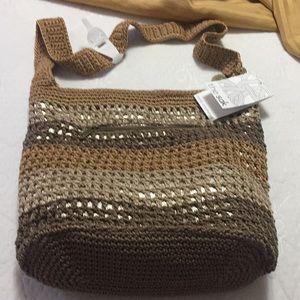 Hand- crocheted Bag